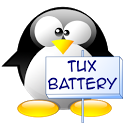 Mini Tux Battery Widget Plus icon