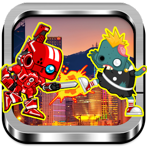 Red Rangers Robot VS Zombies for PC and MAC
