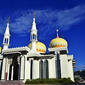 mesjid  by Alvi Eko Pratama - Buildings & Architecture Public & Historical ( muslim, religion, mosque, indonesia, architecture )