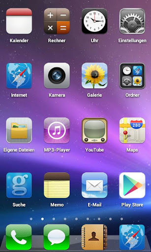 iOS 5 GO THEME v1 0 - Android Themes