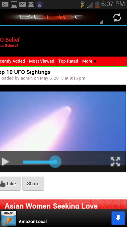 Ufo Videos - screenshot