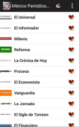 México Periódicos y Noticias
