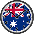 Australia Clock icon