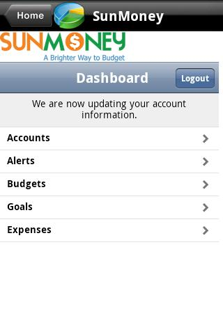 Suncoast SunMobile - screenshot