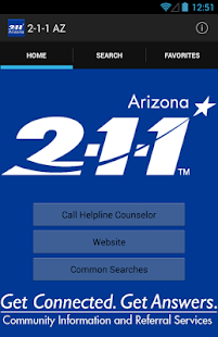 2-1-1 Arizona- screenshot thumbnail
