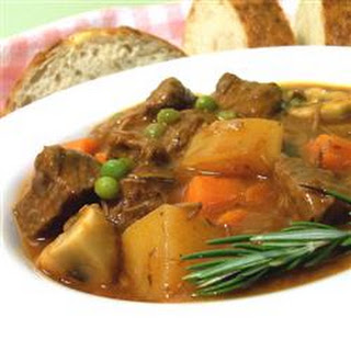 Beef and Vegetable Stew.