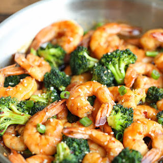 Easy Shrimp and Broccoli Stir Fry.