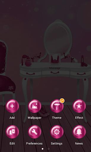 玩免費個人化APP|下載ピンクガールGOランチャー app不用錢|硬是要APP