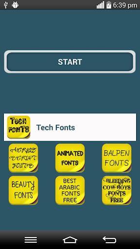 Tech Fonts