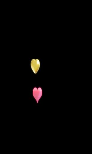 Cœurs multicolores Livewall