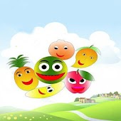 Kids Memory with Fruits