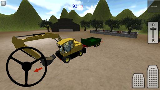 挖掘机模拟器3D:沙