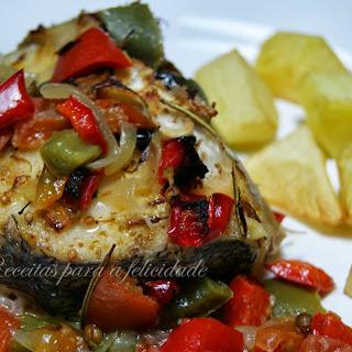 Calhoca-Style Roast Hake.