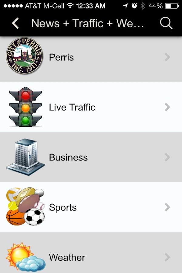 CityByApp® Perris!- screenshot