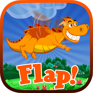 Flap! - Flappy Dragon 街機 LOGO-玩APPs