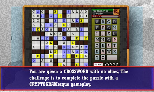 CROSSWORD CRYPTOGRAM - Puzzle