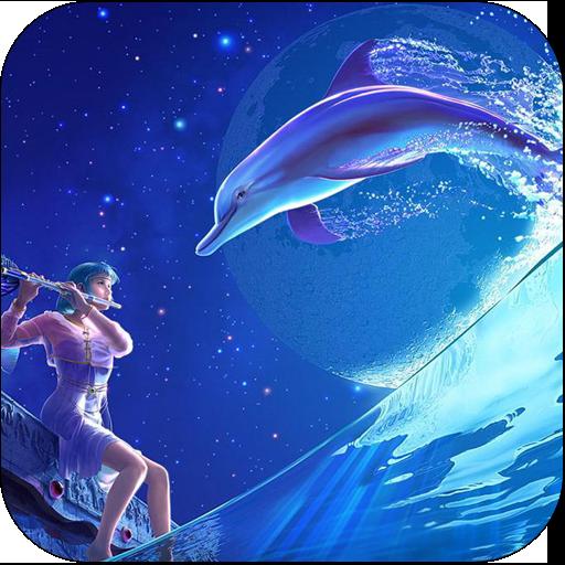 3D Dolphin LOGO-APP點子
