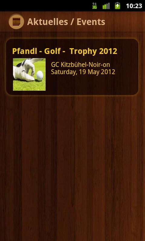 s'Pfandl - screenshot