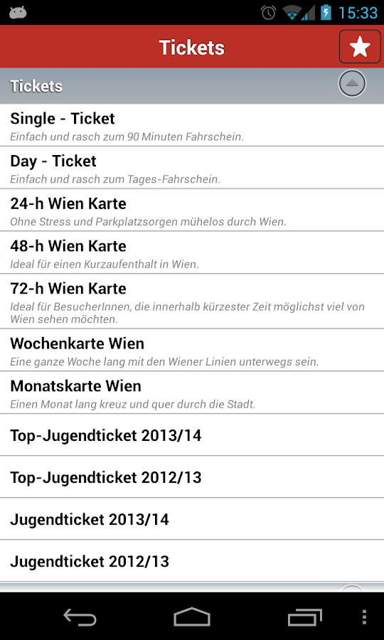 Wiener Linien - screenshot