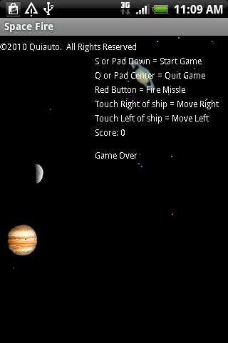 Space Fire- screenshot