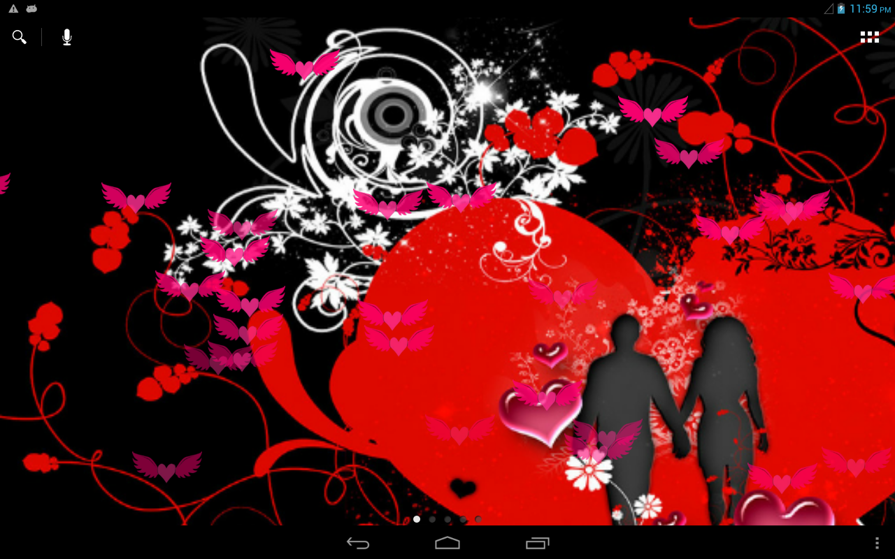valentine love live wallpaper android apps on google play