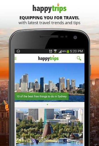 HappyTrips Travel Guide