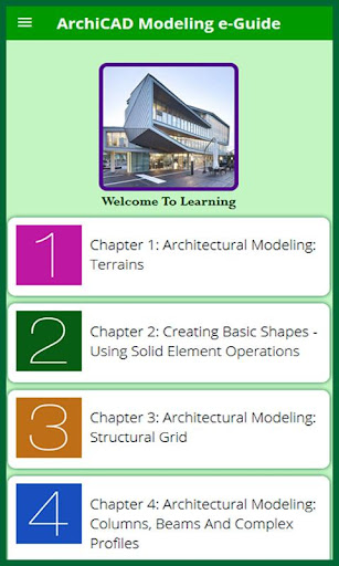 Learn for ArchiCAD Model