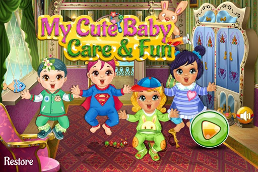 My Cute Baby Care And Fun