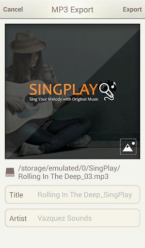SingPlay: Karaoke your MP3s 2.3.4 screenshots 6