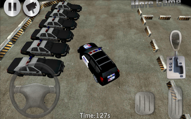 Police 3D Car Parking- screenshot thumbnail