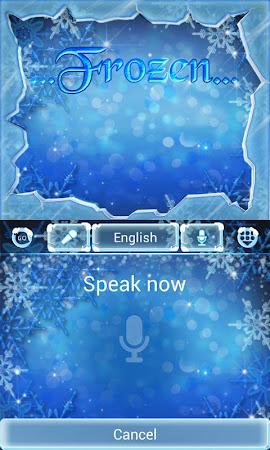 Frozen GO Keyboard Theme 3.87 screenshot 636202