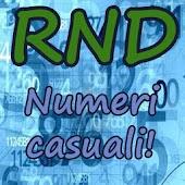 Generatore Numeri Casuali