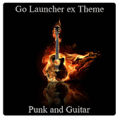 Punk and guitar GO launcher EX