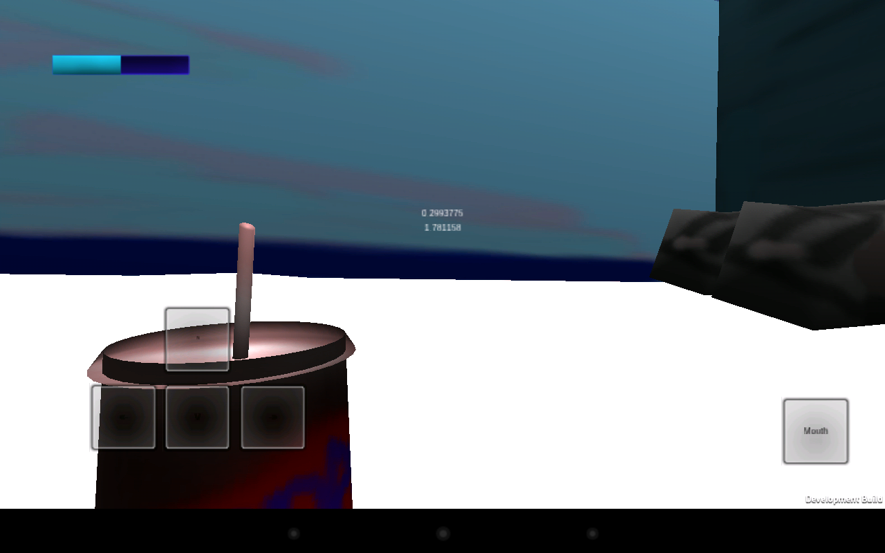 Soda Drinker Mobile Demo- screenshot