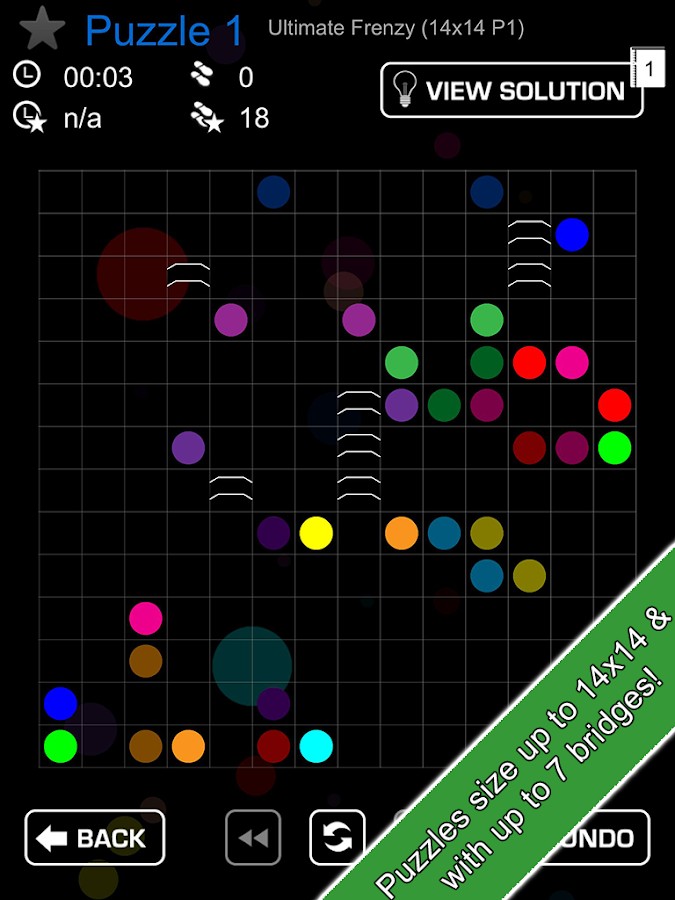 Link Cross -puzzle game - screenshot