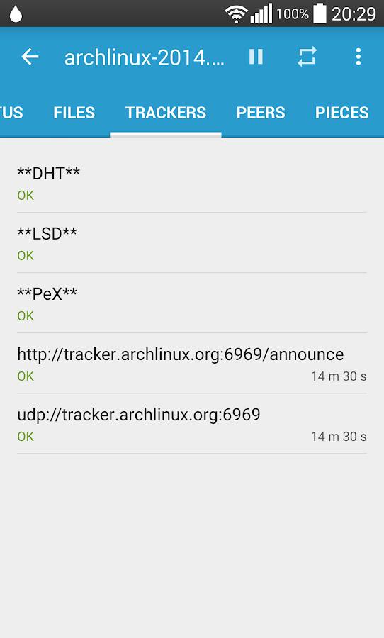 Flud - Torrent Downloader - screenshot