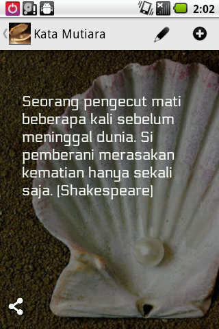Kata Mutiara - screenshot