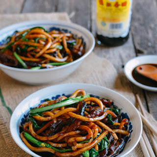 Shanghai Fried Noodles.