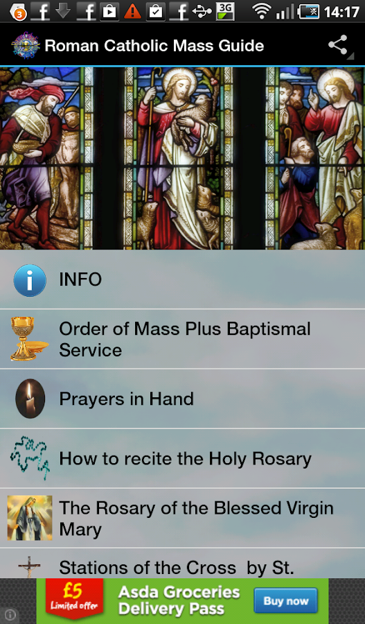 Roman Catholic Mass Guide - screenshot