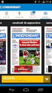 L'Indépendant- screenshot thumbnail
