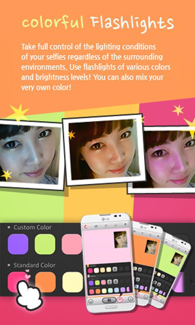 Selfie Studio: Flash Camera screenshot #2