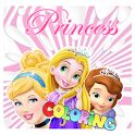 Kids Coloring Princess icon