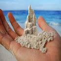 Sand Castle Art icon
