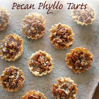Mini Pecan Phyllo Tarts
