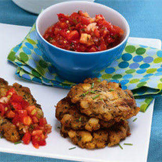 Tempeh and Potato Breakfast Patties.