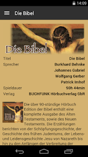 Die Bibel - Hörbuch Edition- screenshot thumbnail