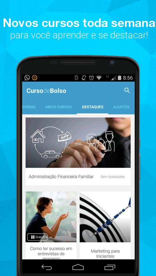 Curso de Bolso- screenshot