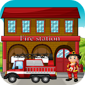 Kids Fire Truck Games