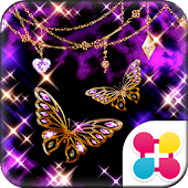 Glitter Butterfly for[+]HOME
