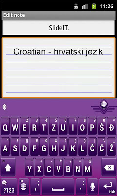 SlideIT Croatian Pack - screenshot